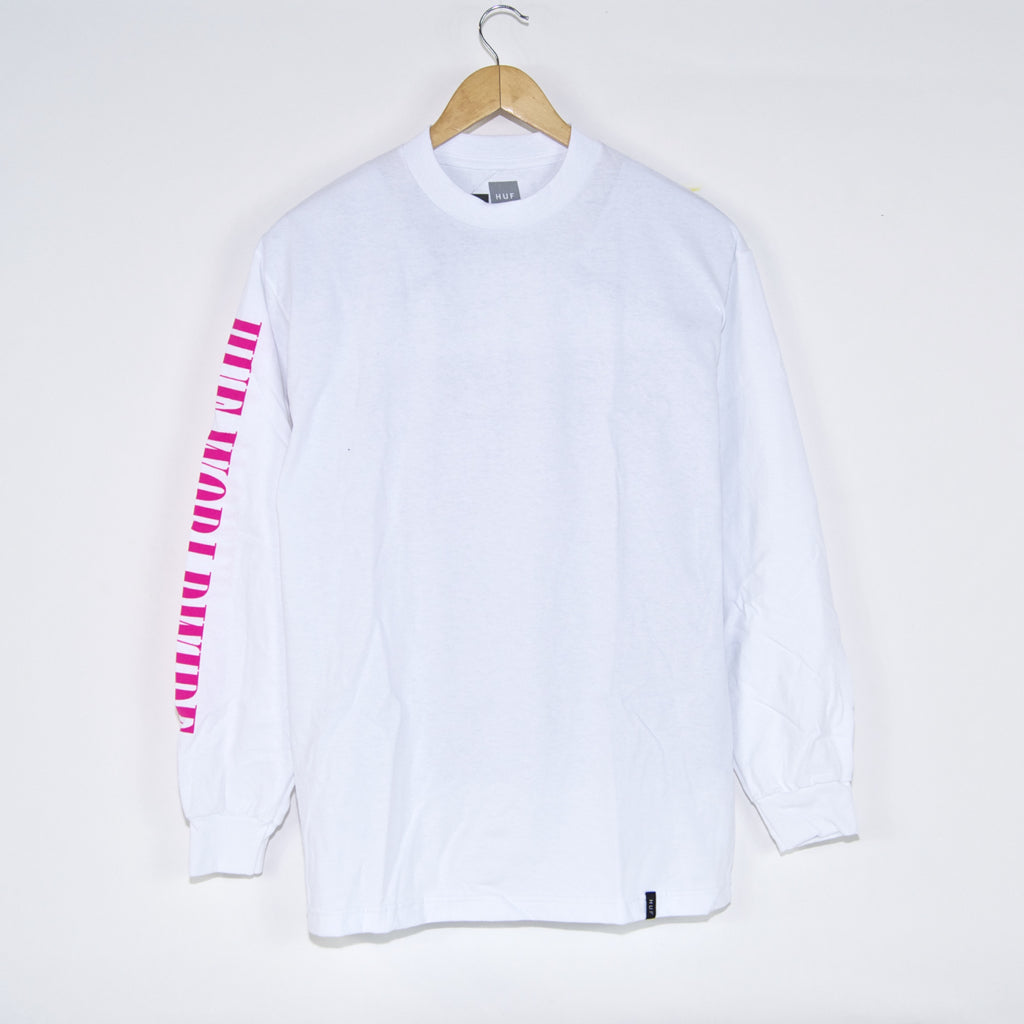 Huf - Jungle TT Longsleeve T-Shirt - White