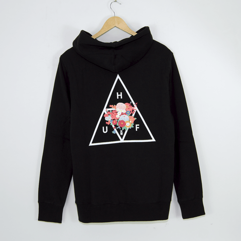 Huf - Memorial Triangle Pullover Hooded Sweatshirt - Black