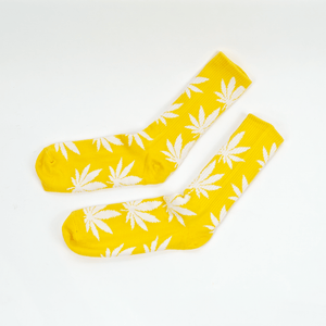 Huf - Plantlife Socks - Mineral Yellow