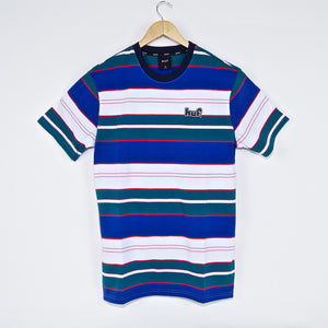 Huf - Upland Knit T-Shirt - Insignia Blue