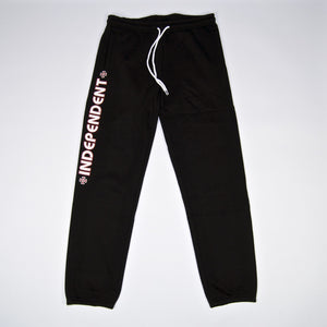 Independent - Bar Cross Joggers - Black
