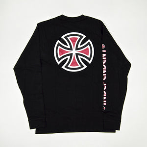 Independent - Bar Cross Longsleeve T-Shirt - Black