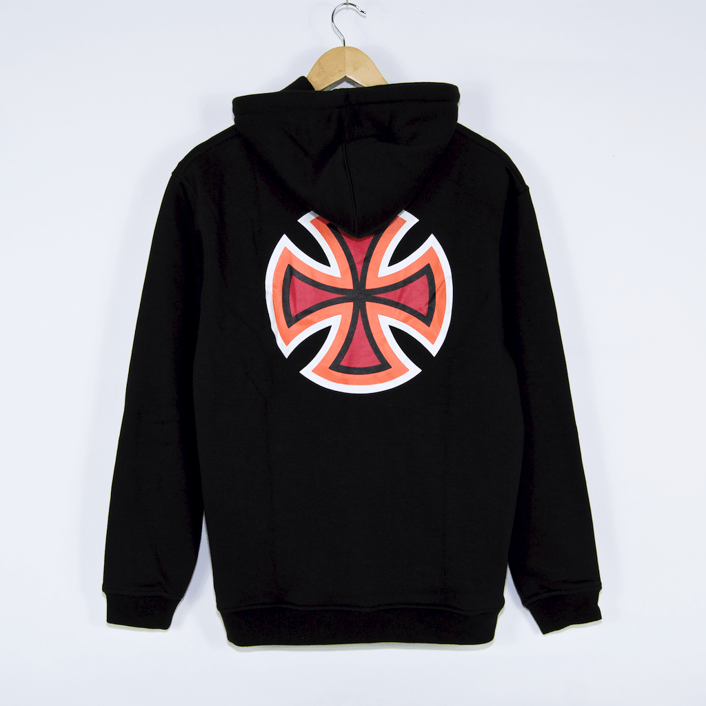 Independent - Bar Cross Primary Pullover Hooded Sweatshirt - Black