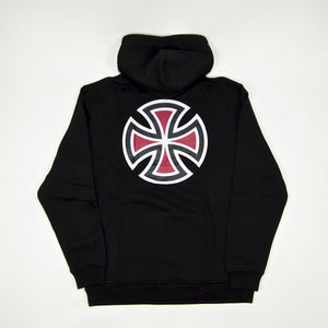 Independent - Bar Cross Pullover Hooded Sweatshirt - Black