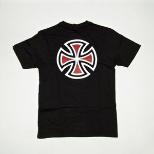 Independent - Bar Cross T-Shirt - Black