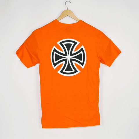 Independent - Bar Cross T-Shirt - Orange