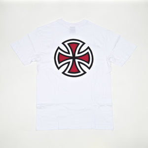 Independent - Bar Cross T-Shirt - White