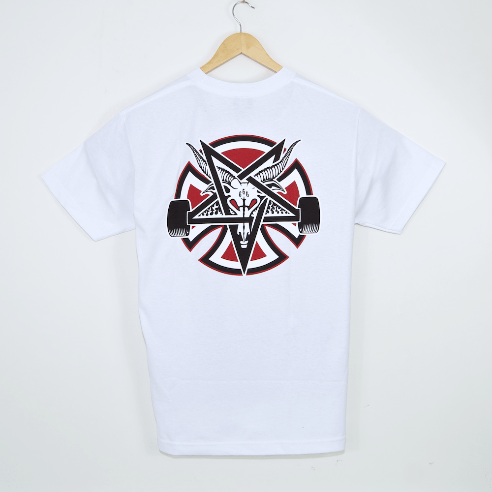 Independent - Indy X Thrasher Pentagram Cross T-Shirt - White
