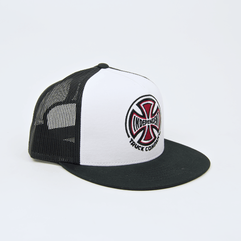 Independent - Truck Co. Mesh Cap - White / Black
