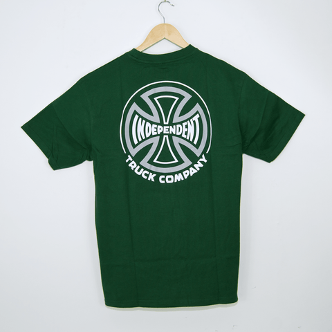 Independent - Two Tone T-Shirt - Forest Green