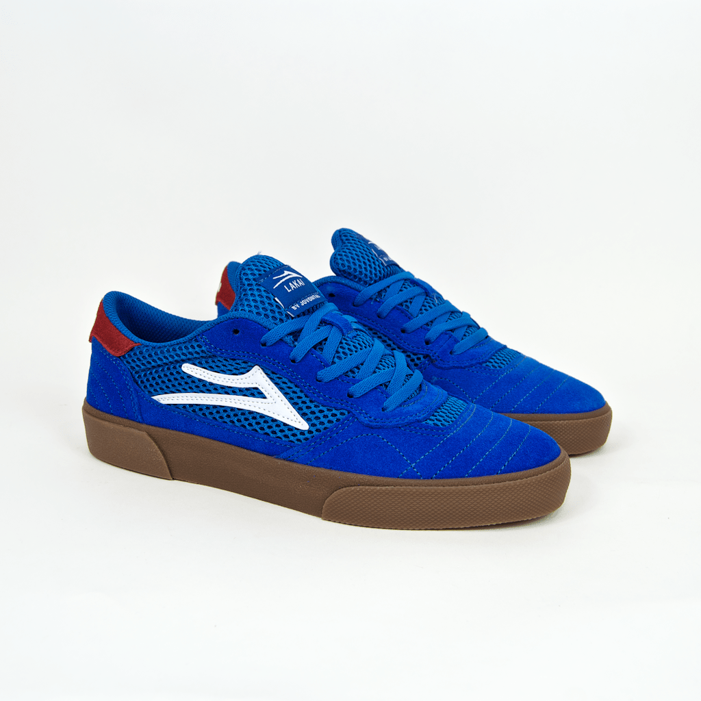 Lakai - Jovantae Turner Cambridge Shoes - Blue / Gum