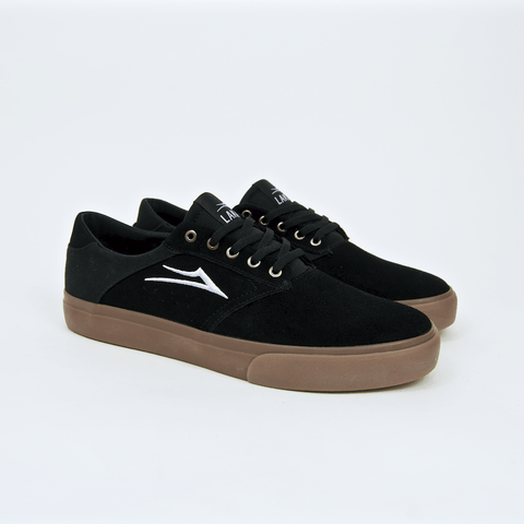 Lakai - Porter Shoes - Black / Gum