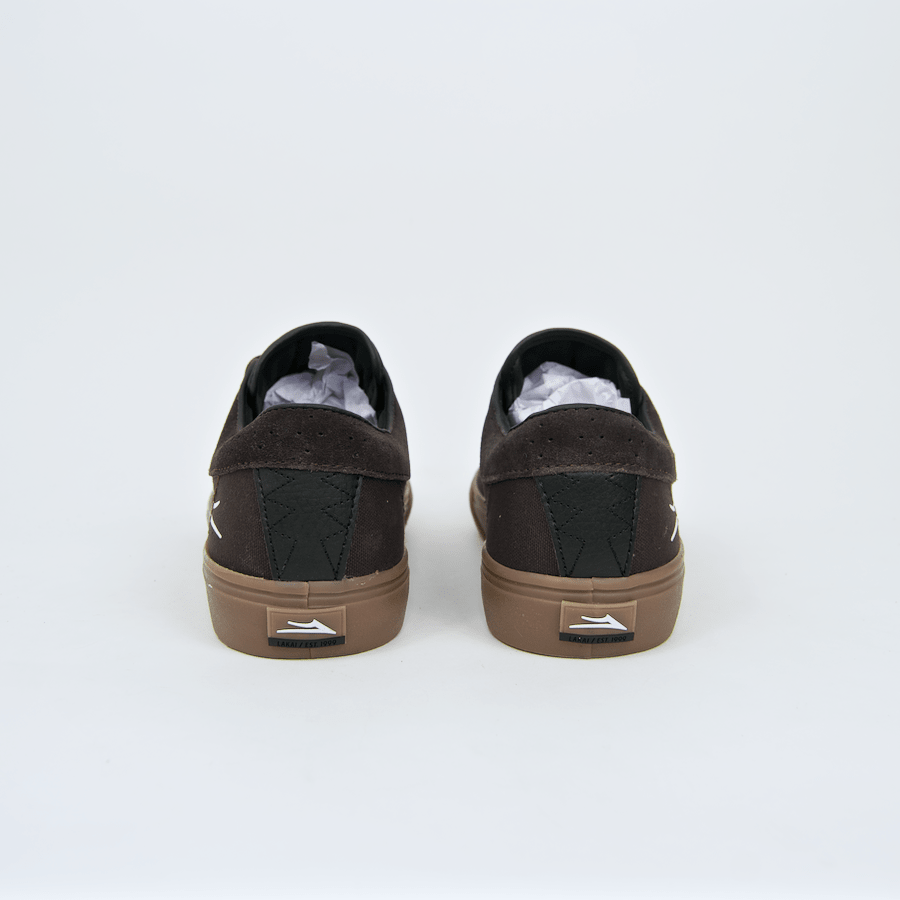 Lakai - Riley Hawk Shoes - Chocolate / Gum