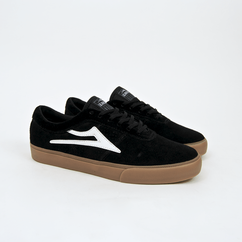Lakai - Sheffield Shoes - Black / White / Gum