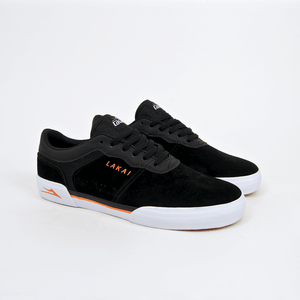 Lakai - Staple Shoes - Black / Orange