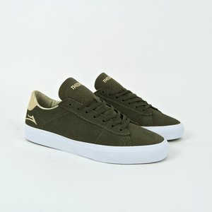 Lakai - Theories Of Atlantis Newport Shoes - Olive / Sand