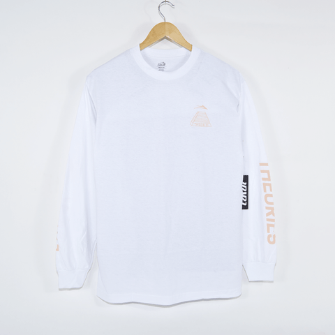 Lakai - Theories Of Atlantis Pyramid Longsleeve T-Shirt - White