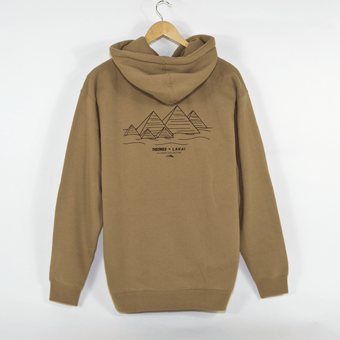 Lakai - Theories Of Atlantis Pyramid Pullover Hooded Sweatshirt - Sand