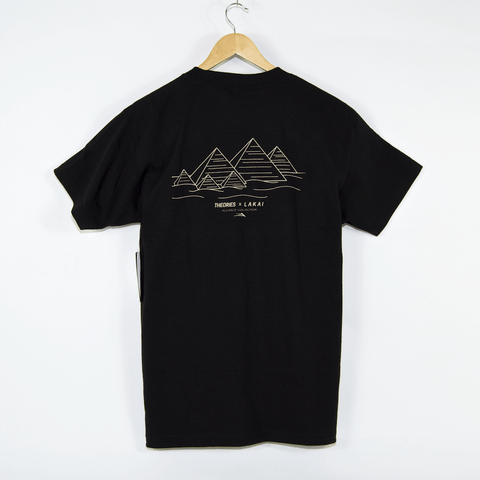 Lakai - Theories Of Atlantis Pyramid T-Shirt - Black