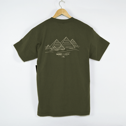 Lakai - Theories Of Atlantis Pyramid T-Shirt - Olive
