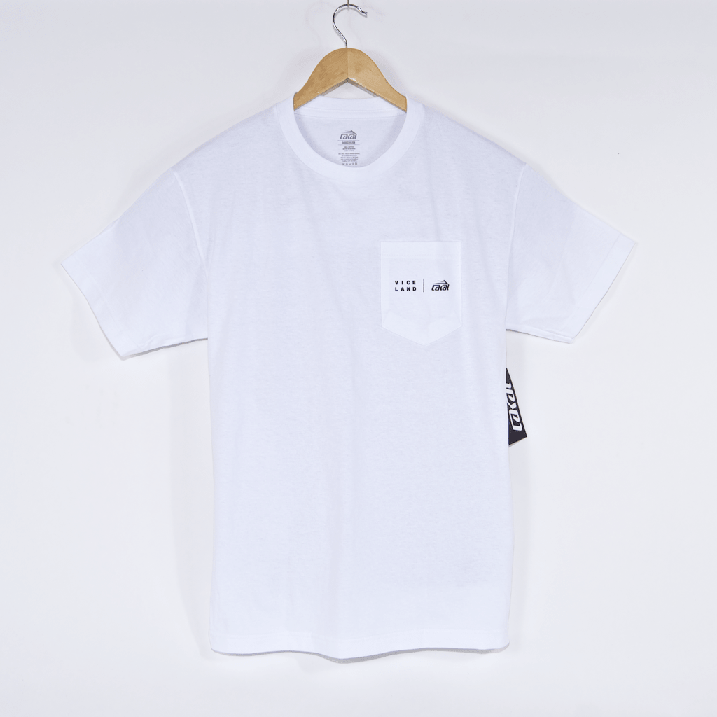Lakai - Viceland Pocket T-Shirt - White
