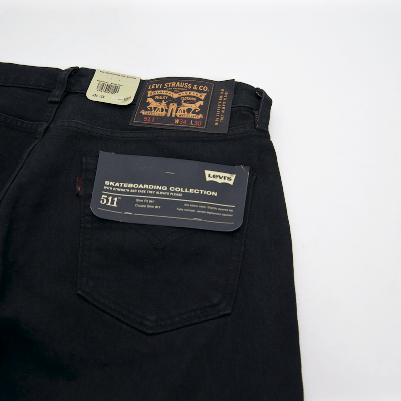 Levi's Skateboarding Collection - 511 Slim Jean - Overdyed