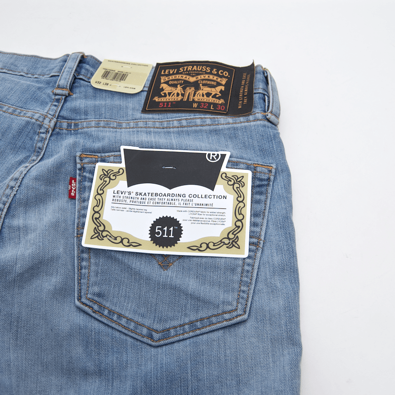 Levi's Skateboarding Collection - 511 Slim Jean - Waller Blue
