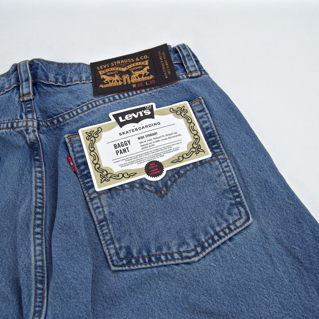 Levi's Skateboarding Collection - Baggy Pant Jeans - Sierra