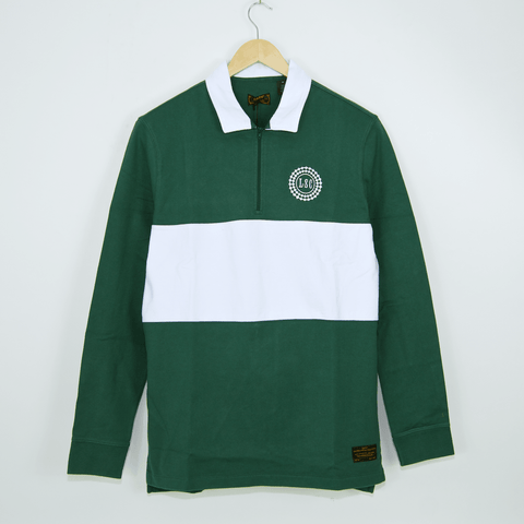Levi's Skateboarding Collection - Longsleeve Rugby Top - Trekking Green