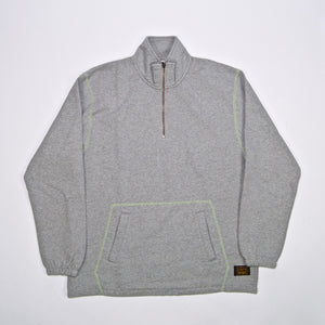 Levi's Skateboarding Collection - Quarter Zip Sweatshirt - Rollerskate Grey