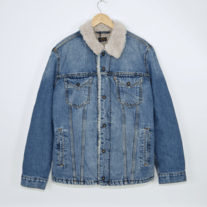 Levi's Skateboarding Collection - Sherpa Trucker Jacket - Kezar