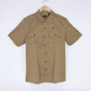 Levi's Skateboarding Collection - Skate Short Sleeve Button Down - Harvest Gold