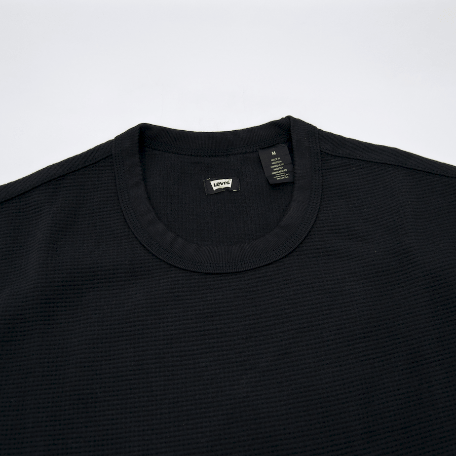 Levi's Skateboarding Collection - Thermal Longsleeve T-Shirt - Jet Black