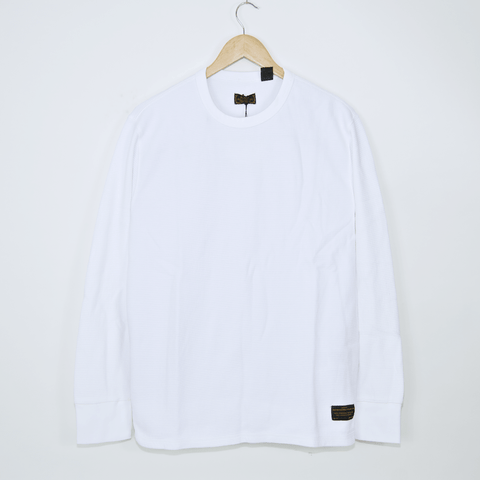 Levi's Skateboarding Collection - Thermal Longsleeve T-Shirt - Bright White