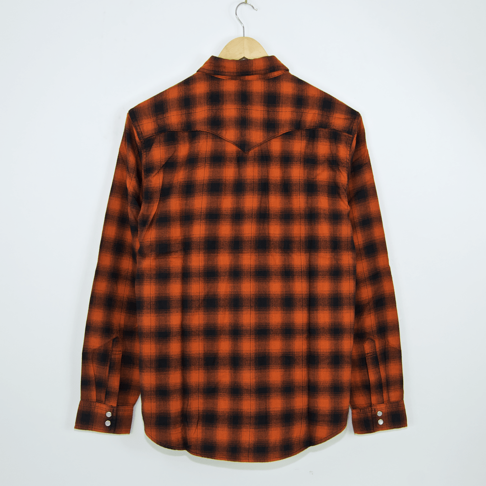 Levi's Skateboarding Collection - Western Flannel Shirt - Nilgai Bombay Brown