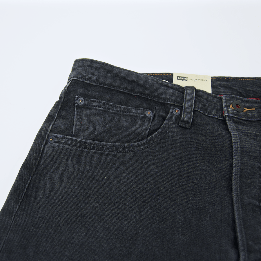 Levi's Skateboarding Collection - 501 Original Fit Jean - Black Rinse