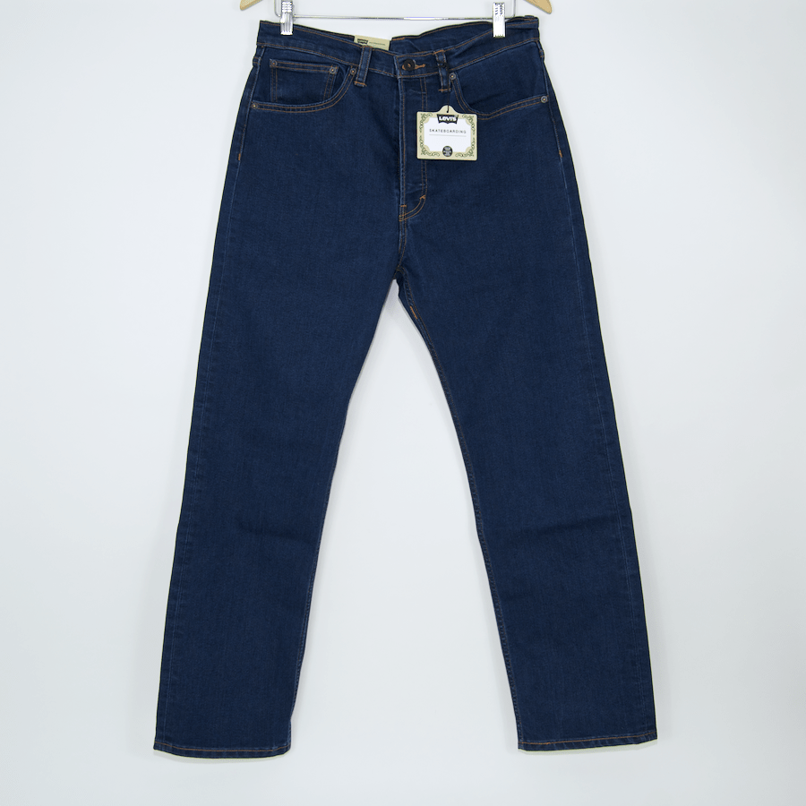 Levi's Skateboarding Collection - 501 Original Fit Jean - Indigo Rinse