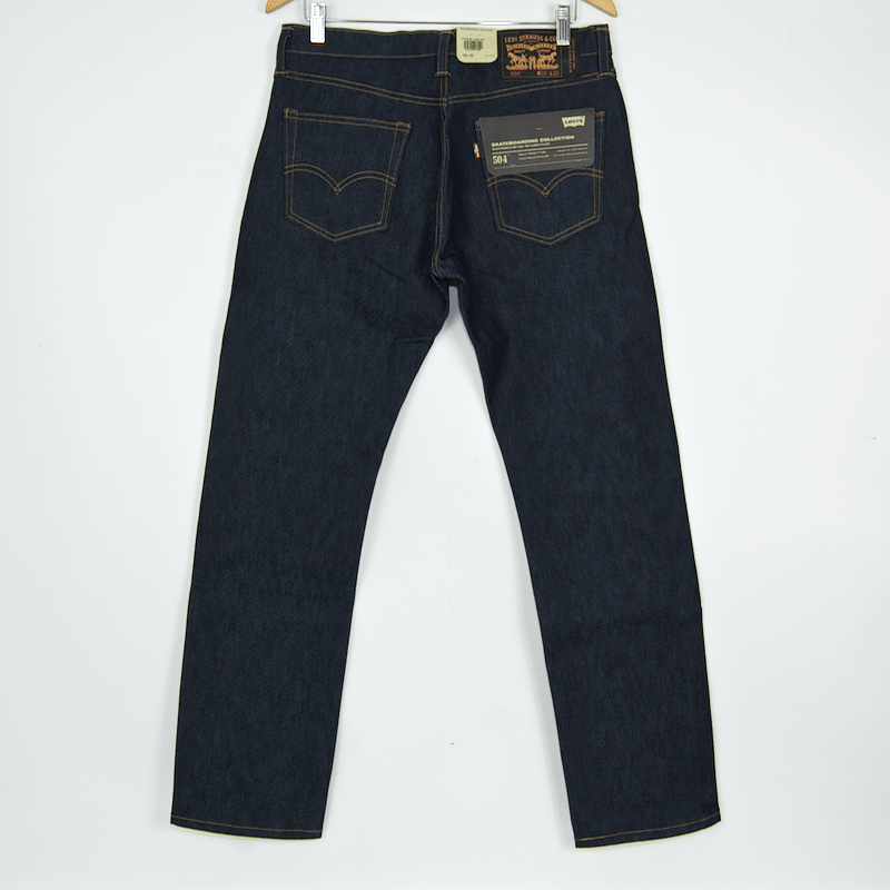 Levi's Skateboarding Collection - 504 Regular Straight Jean - Rigid Indigo