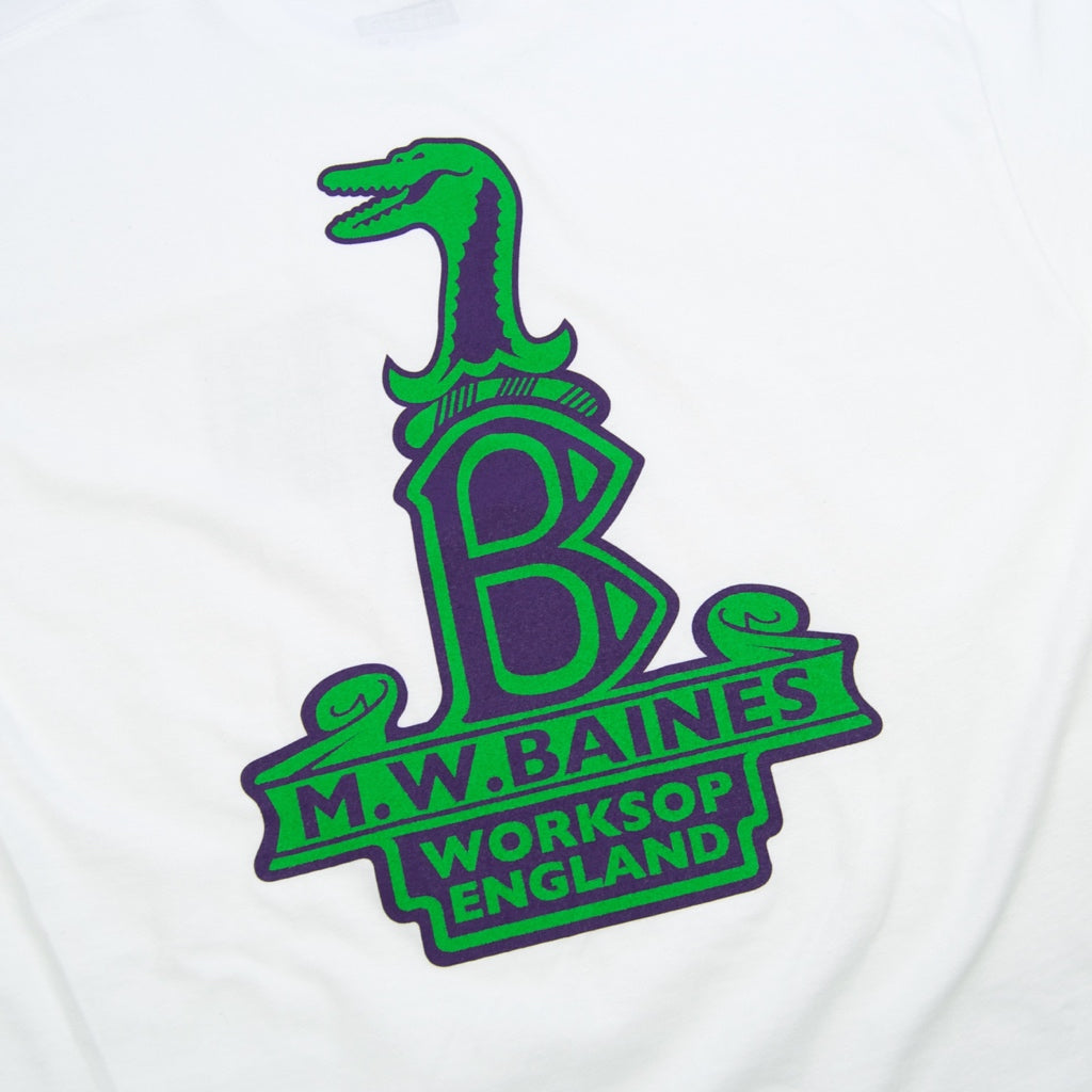 Lost Art - Baines Raleigh-Gator T-Shirt - White