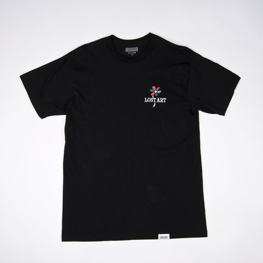Lost Art - Daisy Age T-Shirt - Black