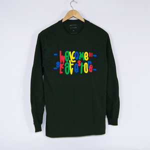 Welcome Skate Store - Love 2.0 Longsleeve T-Shirt - Forest