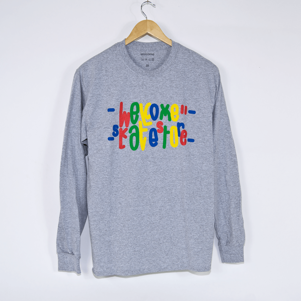 Welcome Skate Store - Love 2.0 Longsleeve T-Shirt - Grey