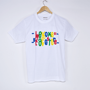 Welcome Skate Store - Love 2.0 T-Shirt - White