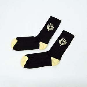 Magenta Skateboards - Plant Socks - Black / Yellow