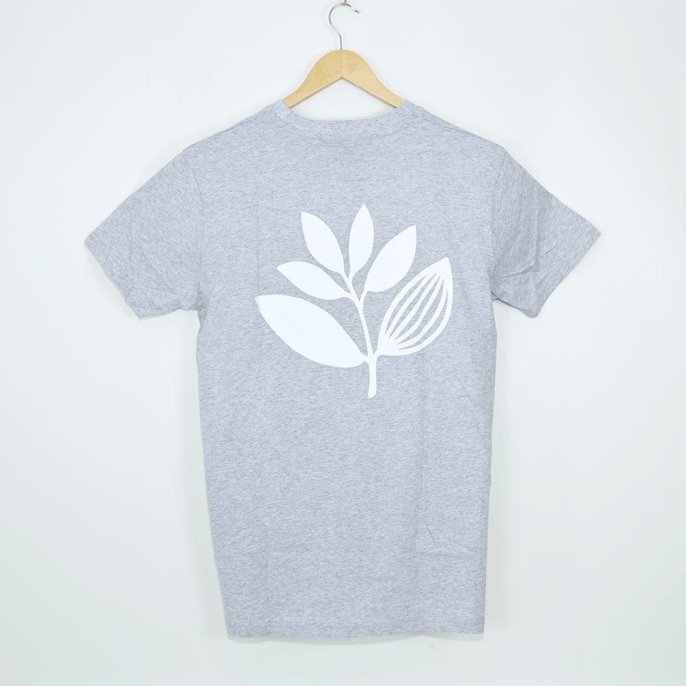 Magenta Skateboards - Plant T-Shirt - Heather Grey