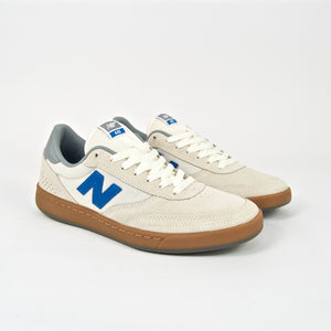 New Balance Numeric - 440 Shoes - Sea Salt / Blue / Gum