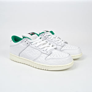 Nike SB - Ben G Dunk Low Pro QS Shoes - White / Lucid Green / Sail