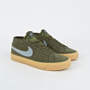 Nike SB - Blazer Chukka Shoes - Medium Olive / Light Armoury Blue