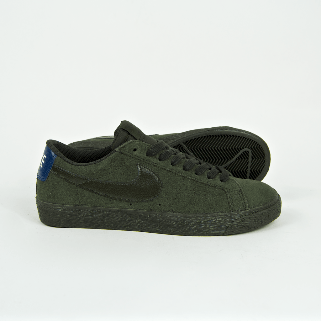 c10f9ca86898 ... Nike SB - Blazer Low Shoes - Sequoia   Blue Force ...