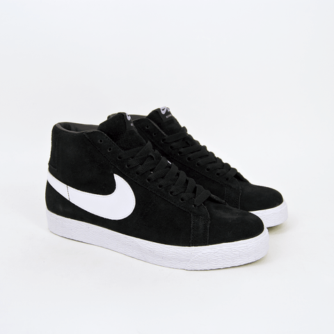 Nike SB - Blazer Shoes - Black / White